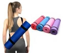 Colchonete Tapete Exercícios Fitness Yoga Pilates Hidrolight