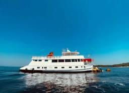 Barco luxuoso- Entrada+ Parcelas