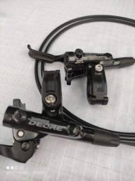 Freio À Disco Hidráulico Shimano Deore M6100 Par Novo Modelo 2021.