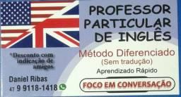 Aula particular de inglês método diferenciado