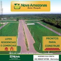 Lotes no Nova Amazonas - parcelas de 399