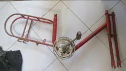 Bicicleta antiga caloi berlineta
