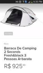 Barraca de camping quechua 2 easy blak