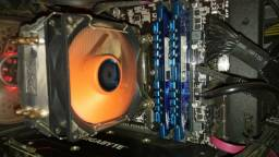 Kit i5 6600+B150 D3h+8 GB Ram DDR3 1600+Cpu Cooler Xigmatek