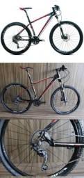 Bicicleta MTB Auge 257 -aro 27,5 - deore 30velocidades NOVA
