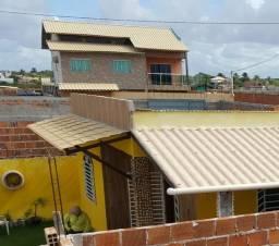 Casa em construção condômino planeta água