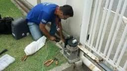 Instalação e manutenção de motor portão de garagem