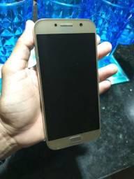 Samsung a5 2017 dourado