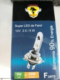 Vendo Lampada de moto super led / Whats (82) 99600-9817