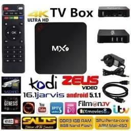 Tv box configurado.(aceito cartão de crédito)