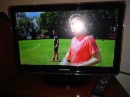 Tv samsung Full HD de 22 por celular ou ps3