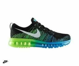 Tênis Nike Air Max Azul - Verde , número 38, 39, 40 e 41