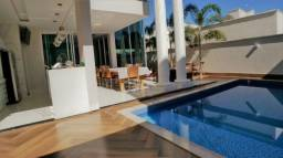 Sobrado 4 Suítes + Home, 375 m², Mobiliado, c/ lazer no Condomínio Mirante do Lago