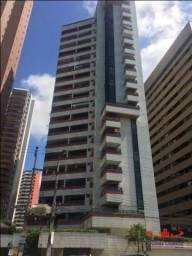 Apartamento com 3 dormitórios para alugar, 207 m² por R$ 6.000,00/mês - Meireles - Fortale