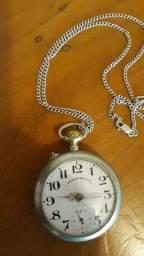 Antigo Relógio de Bolso Roskoph Patent Original  Swiss Made