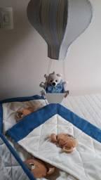 Bando e lustre de ursinho