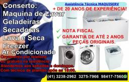 Conserto de Maquina de Lavar Roupas/Geladeira * orçamento gratuito
