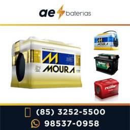 Bateria Moura 180Ah para som e ônibus