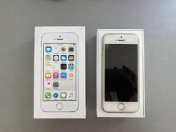 Vendo iPhone 5s - 16gb - iOS 12.4.8 com atualização disponível (funcionando perfeitamente)