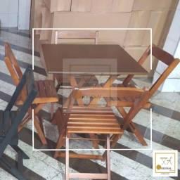 Mesas e cadeiras dobráveis direto de fábrica apartir de 239,00