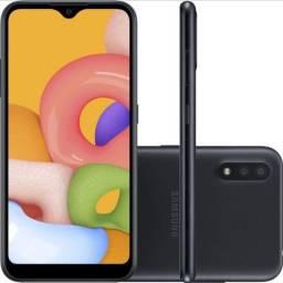Smartphone Samsung Galaxy A01 32GB Novo! Lacrado!