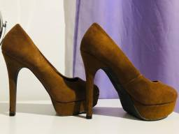 Sapato camurça