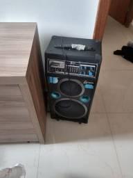 Caixa amplificador  Lenoxx 200WRMS 180,00