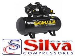Compressor de Ar 10 pés 100 litros Schulz