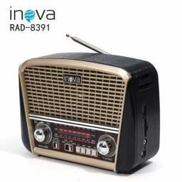 Rádio Portátil Retrô Usb Fm Radio