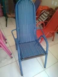 Cadeira restaurada Black azul