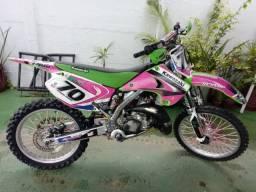 Moto para Motocross Kawazaki