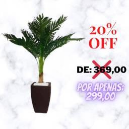 Planta Artificial Coqueiro Com Vaso em polietileno