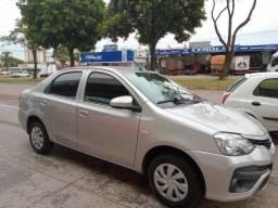 Etios sedan 1.5 x 2018 completo