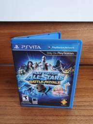 Ps vita - jogo all stars battle royale
