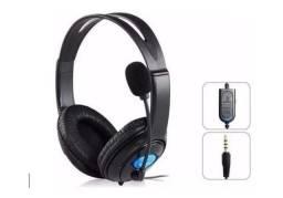 Fone Headset Gamer Com Microfone Para Pc Notebook Ps4 Kp-352