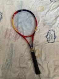 Raquete de tênis prince com 3 bolas