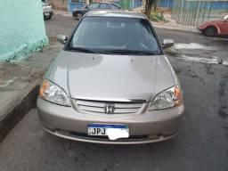 Honda civic Ex 2002 automático vendo ou troco