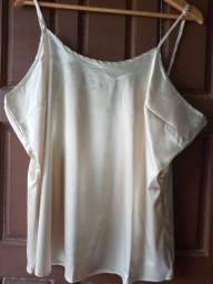 Conjunto de blusa com camiseta da Malwee