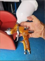 Pistola De Pintura Gti Pro Lite 1.3