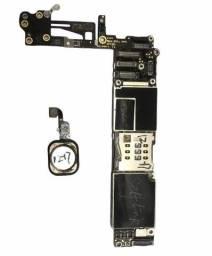 Placa Mãe iPhone 6 64gb Icloud Livre Com Touch Id