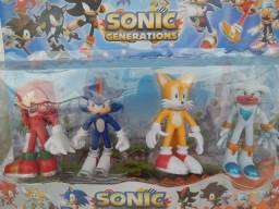 Sonic Ki comt 4 Bonecos Sonic Generations