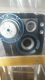 Caixa de som Philips woox technology
