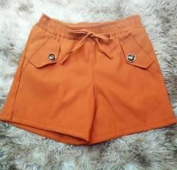Bengaline Premium shorts do 36 ao 42 Tam único