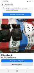 Kit proteção  para patinação