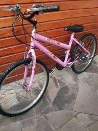 Bike Feminina aro 24 18 marchas