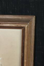 Título do anúncio: Quadro Papiro / em Tela Marrom 63 cm x  52 cm x  3 cm
