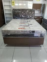 Título do anúncio: CAMA CASAL D33 SELECTUS luxo 1.300,00 até 6X SEM JUROS! ENTREGA IMEDIATA!