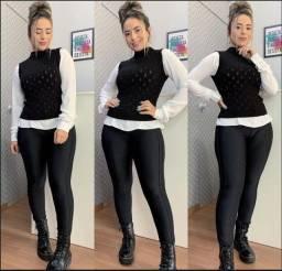 Colete tricot