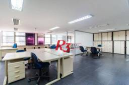 Sala para alugar, 221 m² - Centro - Santos/SP