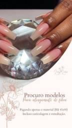 Modelos para alongamento de unhas